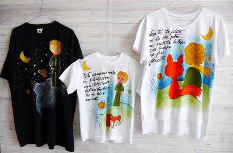 set tricouri familie micul print
